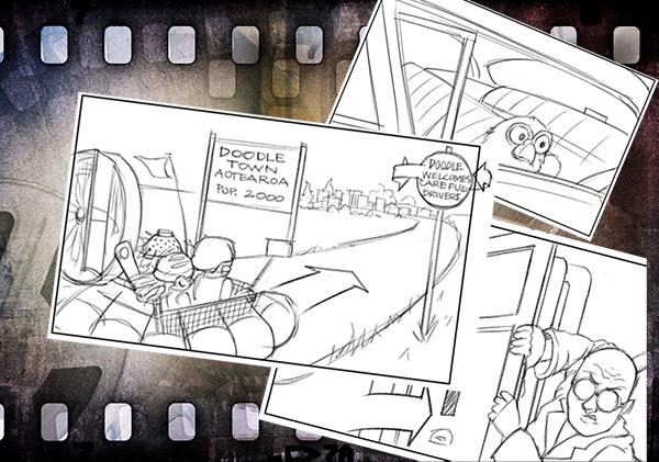 Custard's World Storyboard 600x400 mobile web