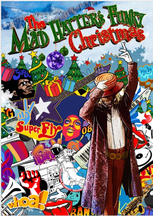 The Mad Hatters Funky Christmas Whoa Studios NZ_Stage_Show_web